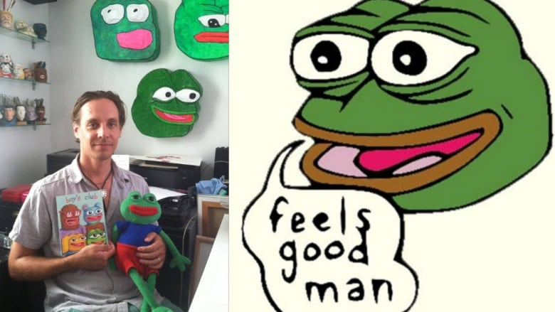 Pepe The Frog Is Not A Hate Symbol Says Creator Matt Furie Cbc Radio