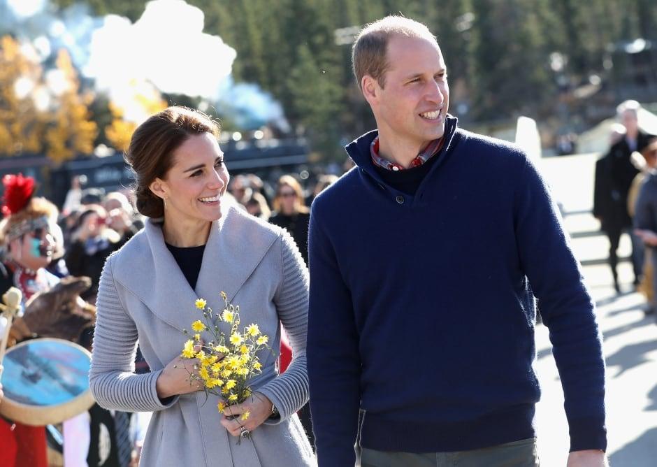 Royal visit Carcross Yukon Sept 28 2016