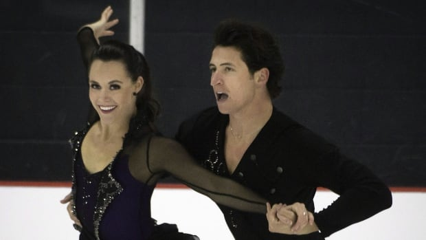 Tessa Virtue and Scott Moir compete in the Autumn Classic International in Montreal on on Thursday.