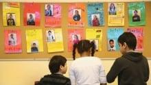 Refugee children - segment