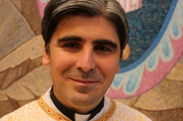Father Ephrem Kardouh, priest at St. Basil's Melkite Greek Catholic Church