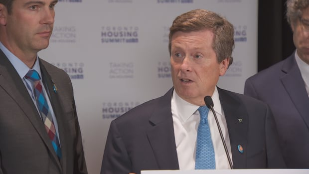 Toronto Mayor John Tory gathered with other Canadian mayors for the 2016 Toronto Housing Summit Friday to tackle the affordable housing crisis facing Canadian cities.