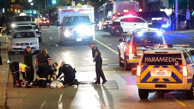 Ontario's police watchdog has issued a decision in the case of a man who was shot and killed by Hamilton police on Sept. 30, 2016 in downtown Hamilton.