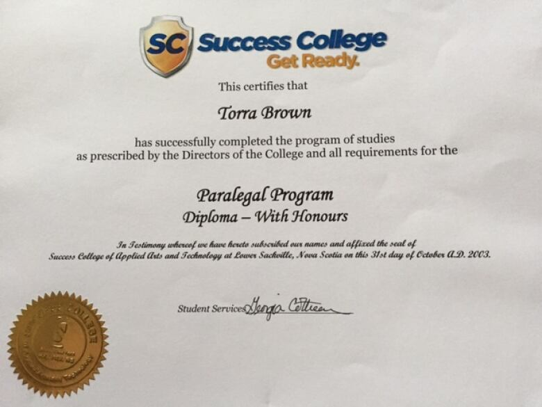 Success College student's records nowhere to be found   CBC News