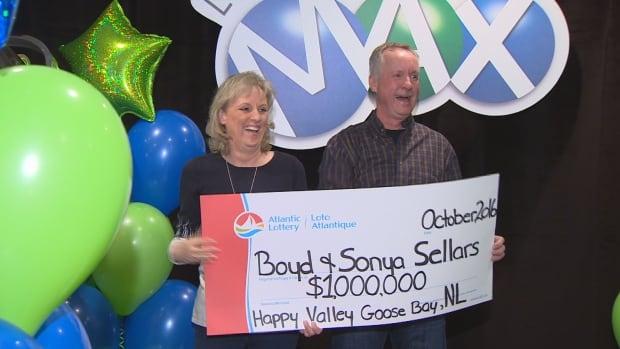 $1M lotto winners from Labrador celebrate big win