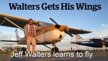 Walters gets his Wings