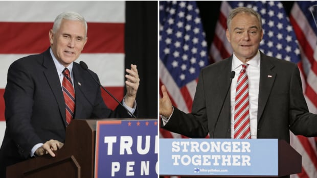 Vice-presidential candidates Mike Pence and Tim Kaine will try to convince Americans they are presidential material in Monday's debate.