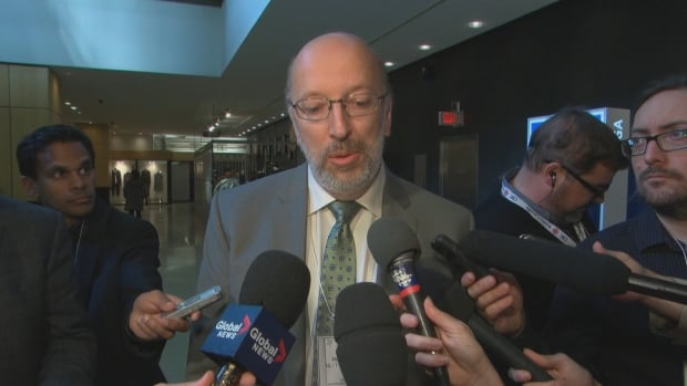 Newfoundland and Labrador Environment Minister Perry Trimper walked out of a meeting with federal Environment Minister Catherine McKenna in Montreal on Monday over the Liberal government's announcement of a carbon-pricing policy.