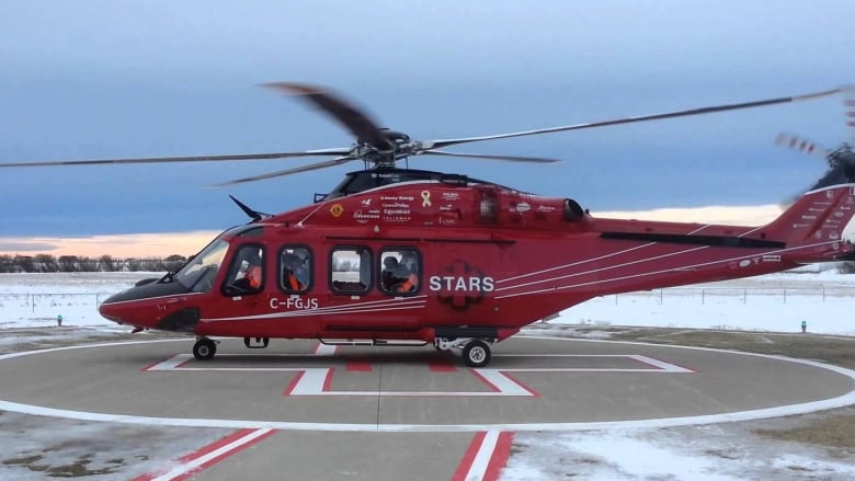 STARS moves newer, faster helicopter from Calgary to Edmonton