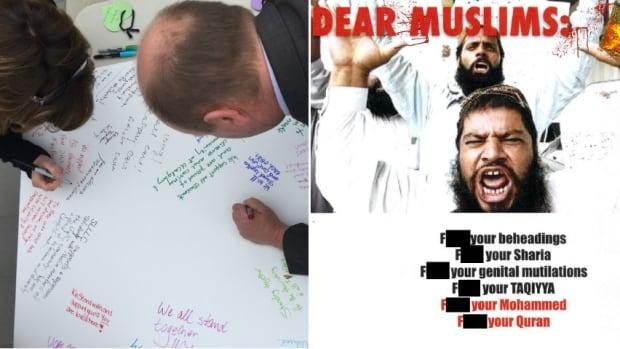 University of Calgary anti muslim