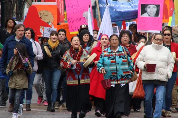 Sisters in Spirit march