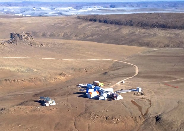 Haughton-Mars Project (HMP) Research Station