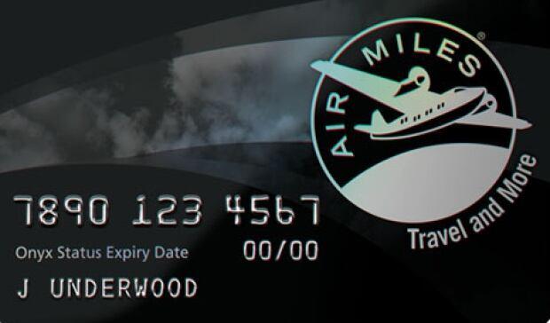 Air Miles Onyx card