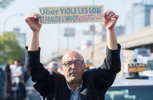 QUE Taxi Strike 20161005