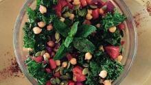 Chickpeas salad Omer Abdallah