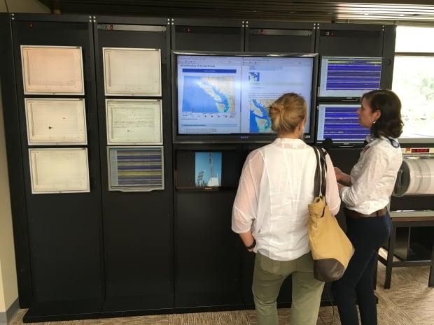 seismologist Alison Bird and johanna Wagstaffe