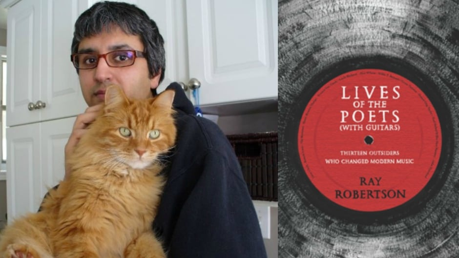 Columnist Vish Khanna (left) talks about how Ray Roberton's Lives of the Poets with Guitars is the ultimate anti-success story.