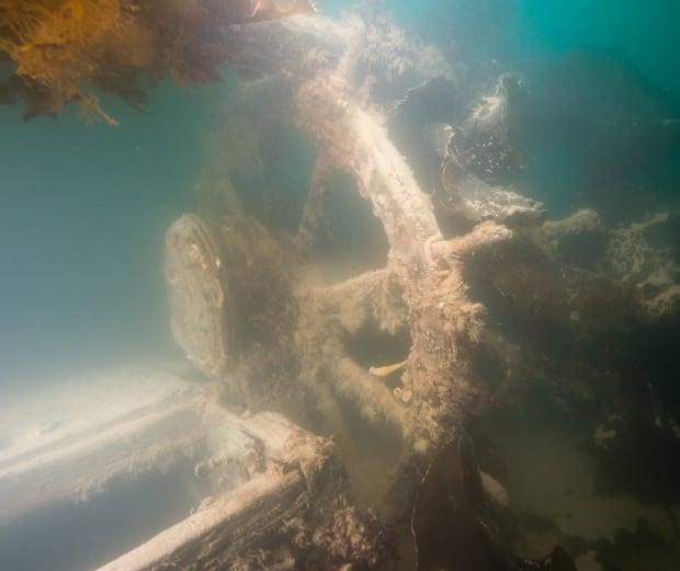 HMS Terror helm