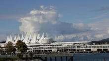 Clouds over Canada Place, Vancouver