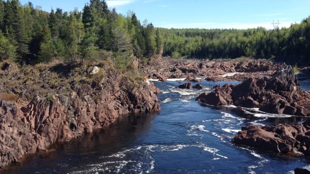 The Exploits River is the largest river in insular Newfoundland and runs for 246 kilometres.