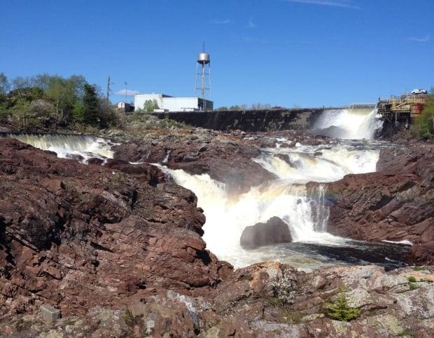 Hydro dam on the Exploits