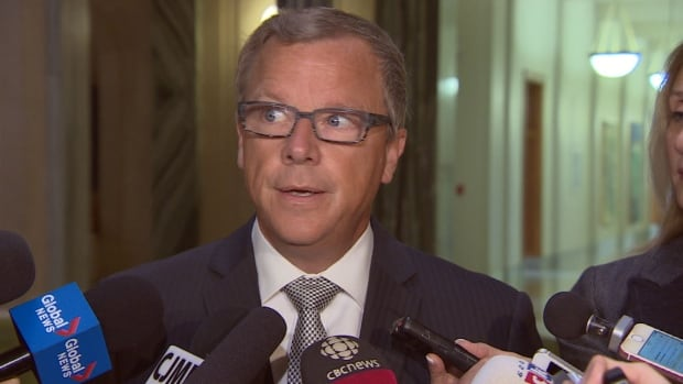 Premier Brad Wall was sticking to his guns Friday when he spoke to reporters about Ottawa's carbon pricing plan.