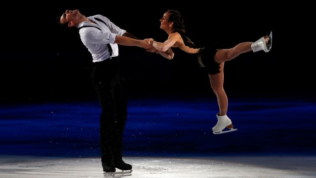 Canadians pairs skaters Meagan Duhamel and Eric Radford won the Finlandia Trophy on Friday.