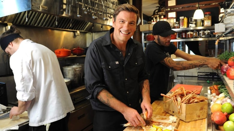 Chuck Hughes challenges kids to creative in the kitchen