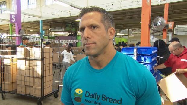 Richard Matern -- Daily Bread Food Bank -- Oct. 8, 2016