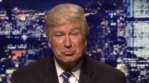 Alec Baldwin as Donald Trump screen grab SNL