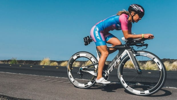 Winnipeg triathlete Nicole Walker competed in the Ironman North American Championships in Kona, Hawaii.