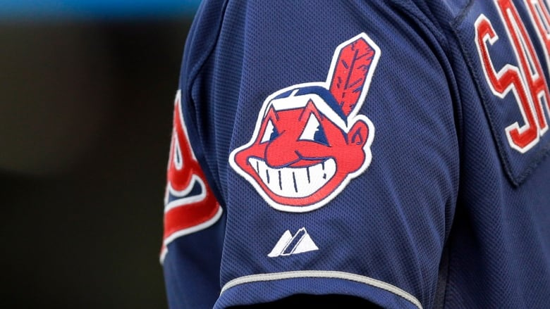 f414a6d4469b8 The controversial Chief Wahoo logo normally appears on the sleeve of  Cleveland s jerseys