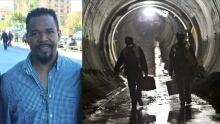 NYC transit collage