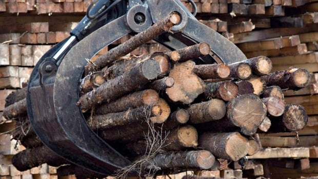 Nova Scotia has previously been exempt from countervailing duties for softwood lumber it sends to the U.S.