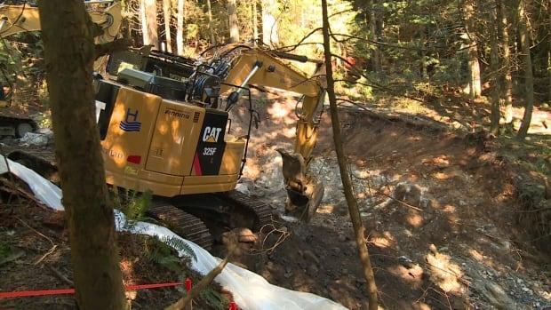 Creek upgrades