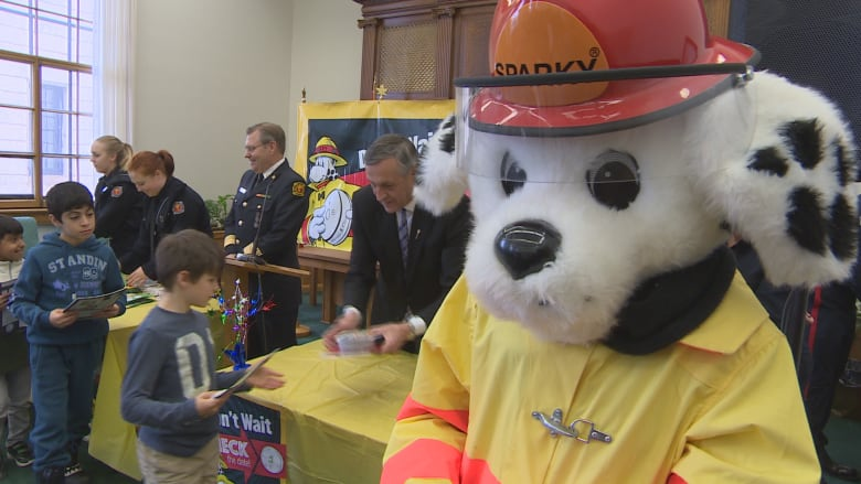 Sparky Has Been Teaching Kids About Fire Safety For 65 Years Craig Edwards CBC