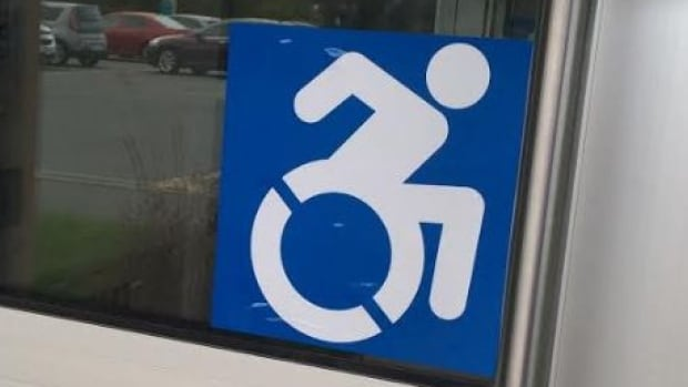 This is the new updated icon Lionel Courtemanche in Sudbury wants to see the city's Accessibility Panel adopt in the future.