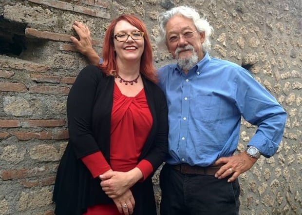 David Suzuki and Kelly Olson
