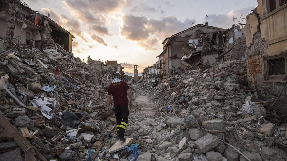 'Apocalyptic' aftershocks of back-to-back earthquakes ...