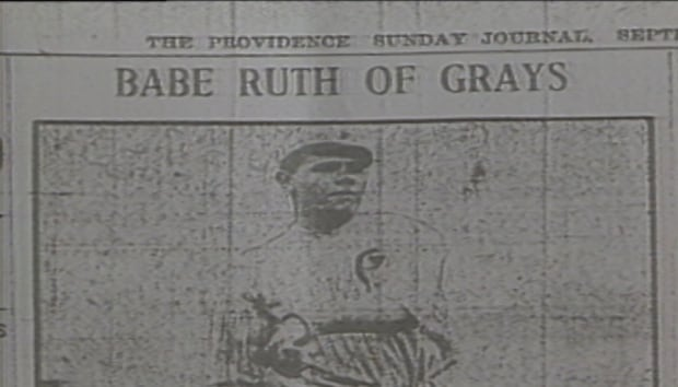 Babe Ruth on Providence Grays
