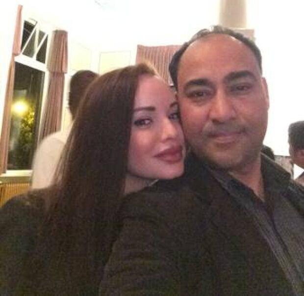 Alena Rebmann and Nawab Singh