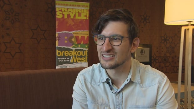 Musician Nick Faye is pleased to be one of the performers at BreakOut West, a music festival underway in Regina.