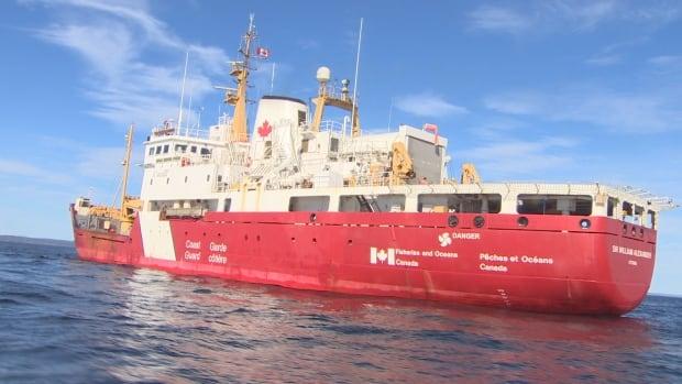 Coast Guard ship Sir William Alexander was fined $6,000 by Transport Canada.