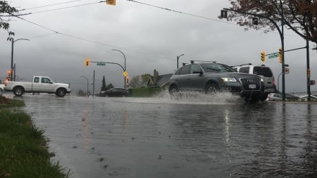 Rainfall warning issued for the Fraser Valley