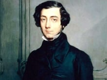 Detail from a portrait of Alexis de Tocqueville by Théodore Chassériau (1855).