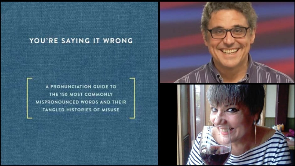 "Brother-sister duo Ross and Kathy Petras are the pronunciation aficionados behind the new book ""You're Saying it Wrong."""