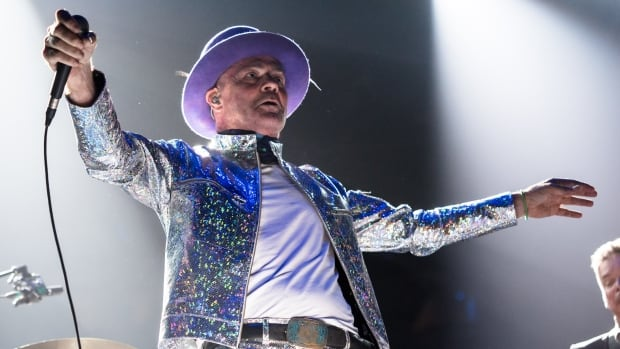 Gordon Downie of The Tragically Hip performs on stage during the Man Machine Poem tour at the Air Canada Centre on Aug. 10, 2016 in Toronto. Many of the tickets for the cross-Canada tour were snapped up within minutes of going on sale by bots.
