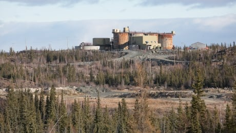Giant Mine as seen from Igraham Trail