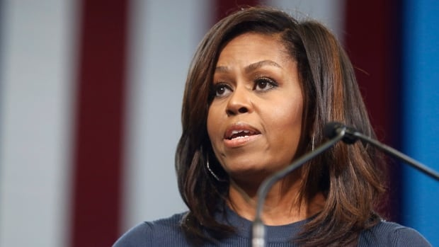 Plan International Canada has launched a nationwide contest to win tickets to hear Michelle Obama speak later this month but is excluding Quebec residents.