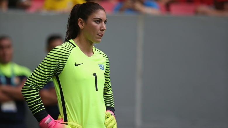 2de9b1e00 U.S. goalkeeper Hope Solo insists her playing career isn t over. (Steve  Bardens-FIFA FIFA via Getty Images)